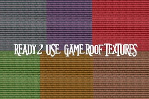 Game Graphics Roof Tiles Textures