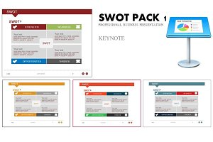 SWOT PACK 1 KEYNOTE TEMPLATE