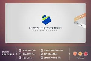 Maveric Studio - Logo Template