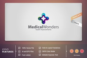 Medical Wonders - Logo Template