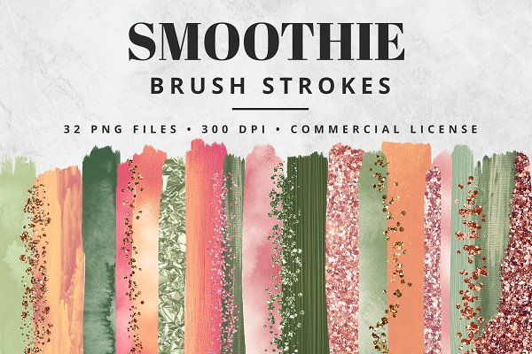 Smoothie Brush Stroke Set