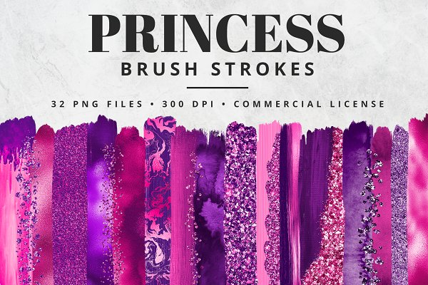 Princess Brush Stroke Set