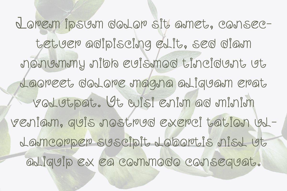 Leaf Handwritten Font