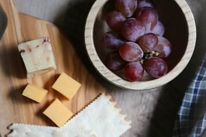 Rustic Farmhouse Cheese Crackers
