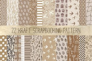 Kraft pattern set