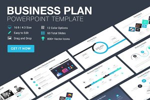 Marketing plan powerpoint template presentation templates business plan powerpoint template pronofoot35fo Gallery