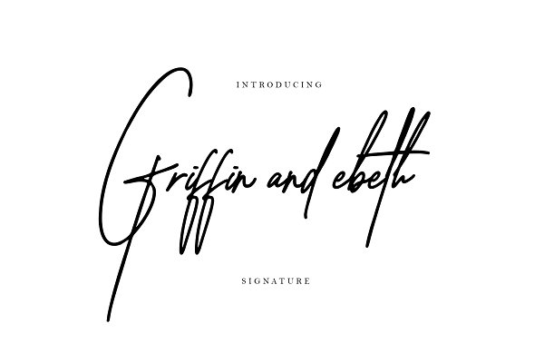 Griffin and ebeth