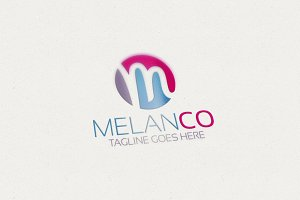 M Letter M Logo