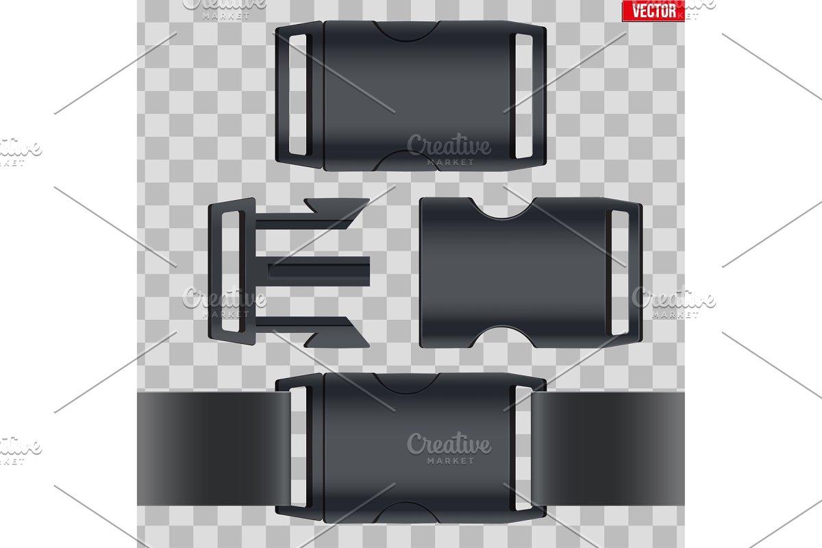 Set of fastex semi-automatic clip