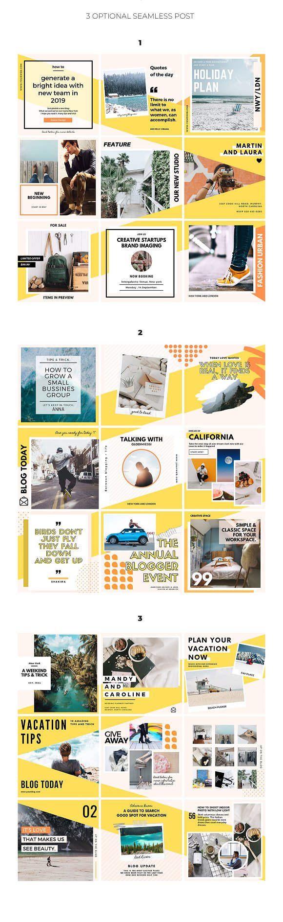 Puzzle Bold Bundle in Instagram Templates - product preview 4