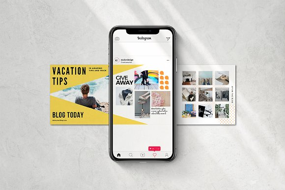 Puzzle Bold Bundle in Instagram Templates - product preview 5