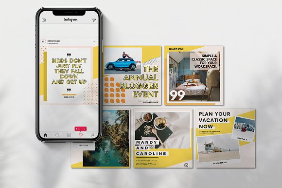 Puzzle Bold Bundle in Instagram Templates - product preview 7