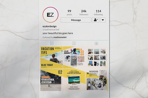 Puzzle Bold Bundle in Instagram Templates - product preview 8
