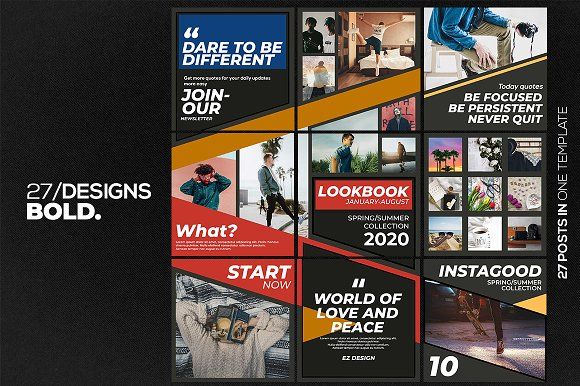 Puzzle Bold Bundle in Instagram Templates - product preview 17