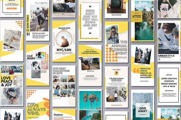 Puzzle Bold Bundle in Instagram Templates - product preview 21