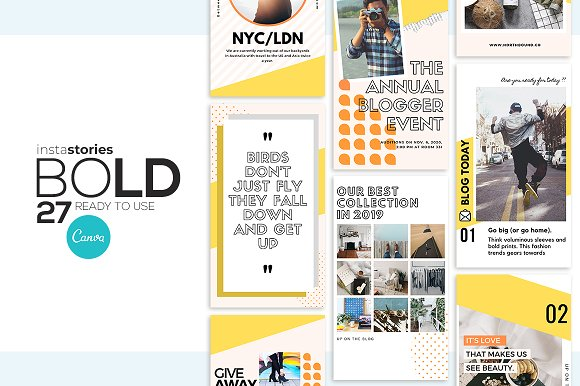 Puzzle Bold Bundle in Instagram Templates - product preview 22