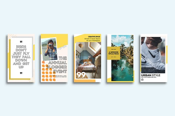 Puzzle Bold Bundle in Instagram Templates - product preview 25