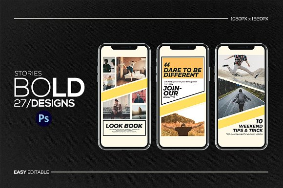 Puzzle Bold Bundle in Instagram Templates - product preview 26