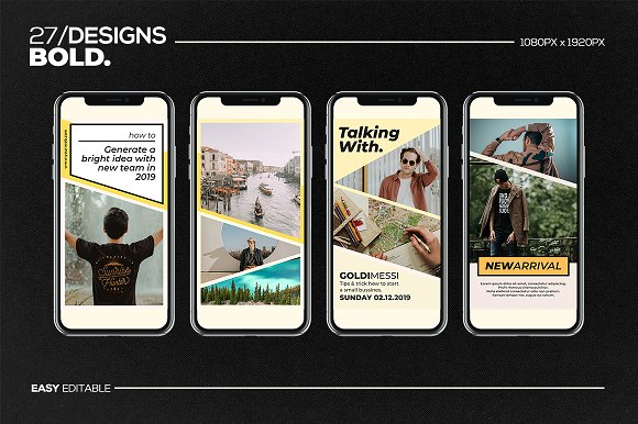 Puzzle Bold Bundle in Instagram Templates - product preview 27