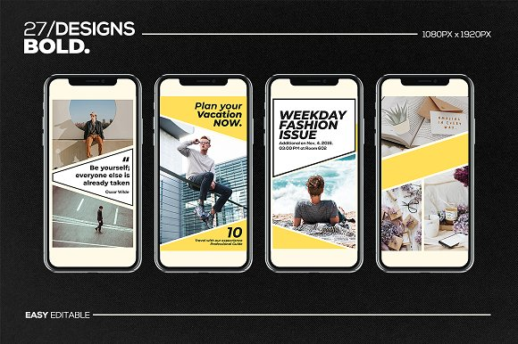 Puzzle Bold Bundle in Instagram Templates - product preview 28