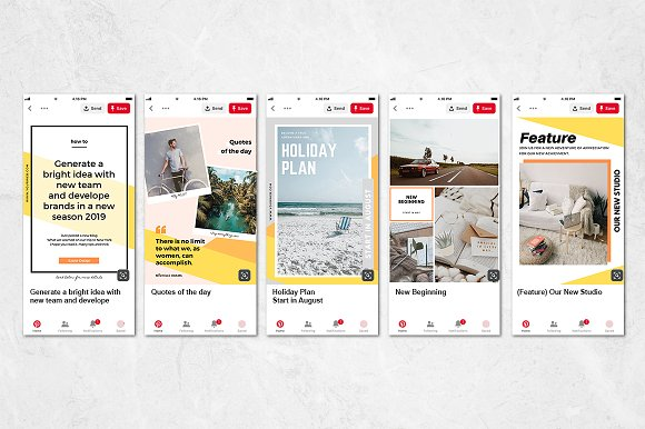 Puzzle Bold Bundle in Instagram Templates - product preview 30