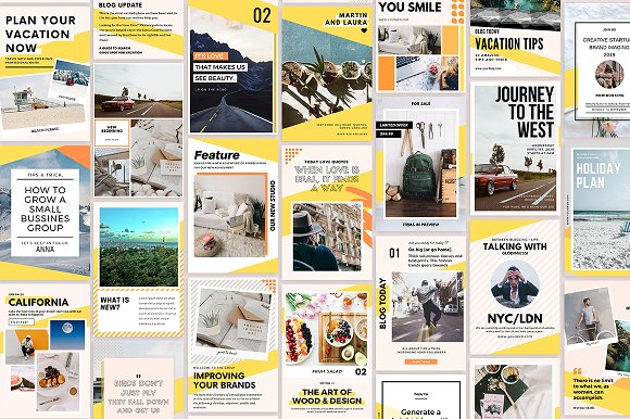 Puzzle Bold Bundle in Instagram Templates - product preview 31