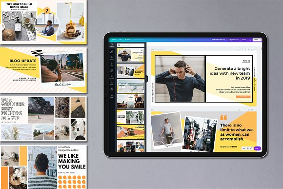 Puzzle Bold Bundle in Instagram Templates - product preview 34