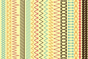 Stitches Photoshop Brushes