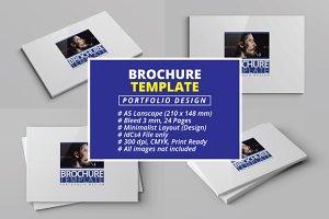 A5 - Brochure Template (Portfolio)