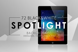 50%OFF 72 Spotlight Backgrounds Pack