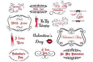 Love and Valentine's headers