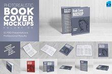 Book Cover Mockups v5 - Hardcover