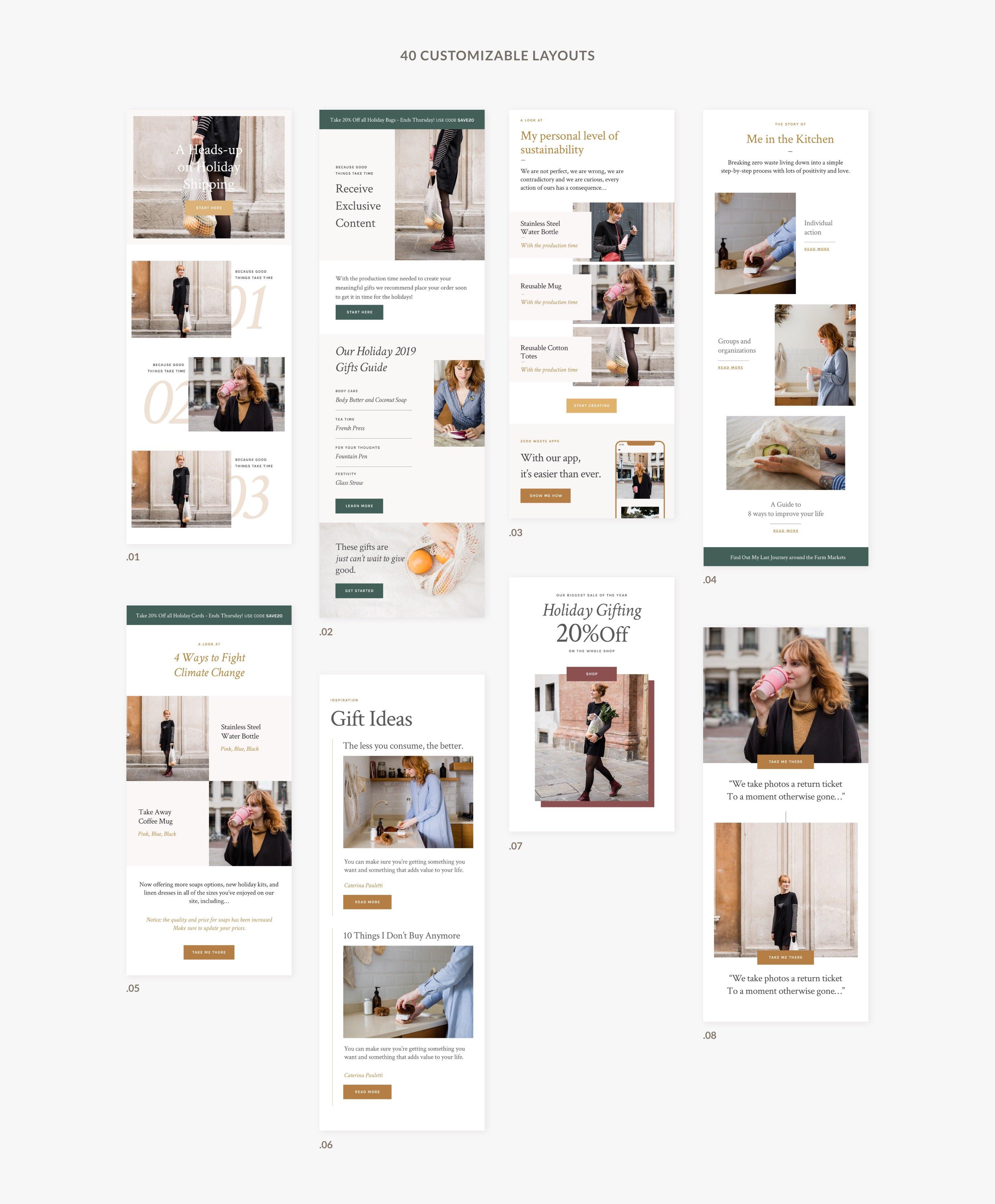 02 presentation newsletter templates