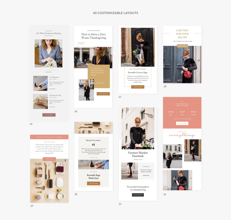 05 presentation newsletter templates
