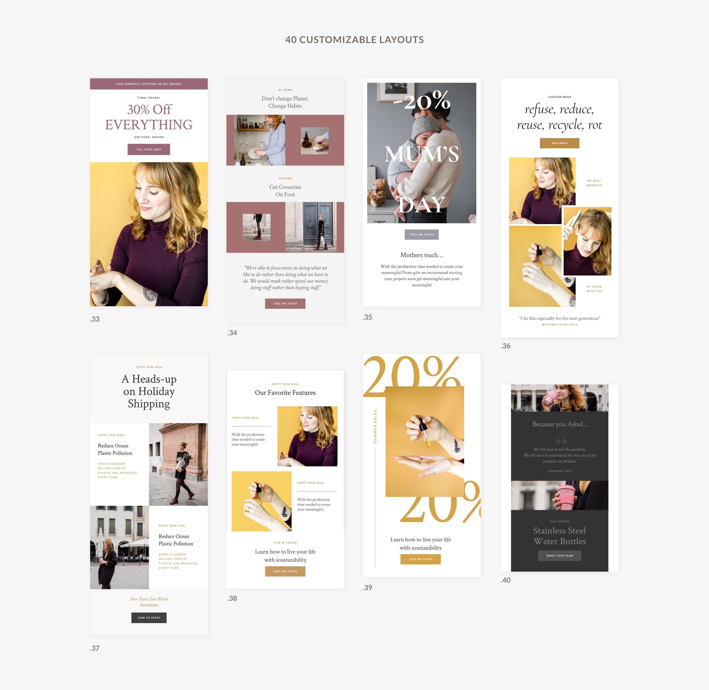 06 presentation newsletter templates