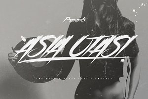 Asia Otasi Brush Font + Swashes