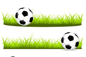 Set the ball on grass 3 options