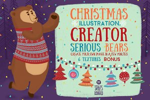 Christmas Illustration Creator/Bears