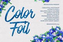 Color Foil - Photoshop Action