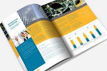 Keynote Brochure Template Photos Graphics Fonts Themes - Keynote brochure template