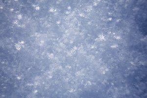 white snowflakes  background,