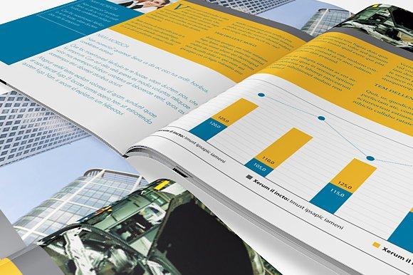 InDesign Brochure Template ~ Brochure Templates ~ Creative Market