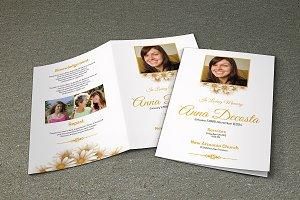 Funeral Program Template-V236