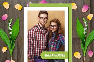 Photo Save the Date Invitation