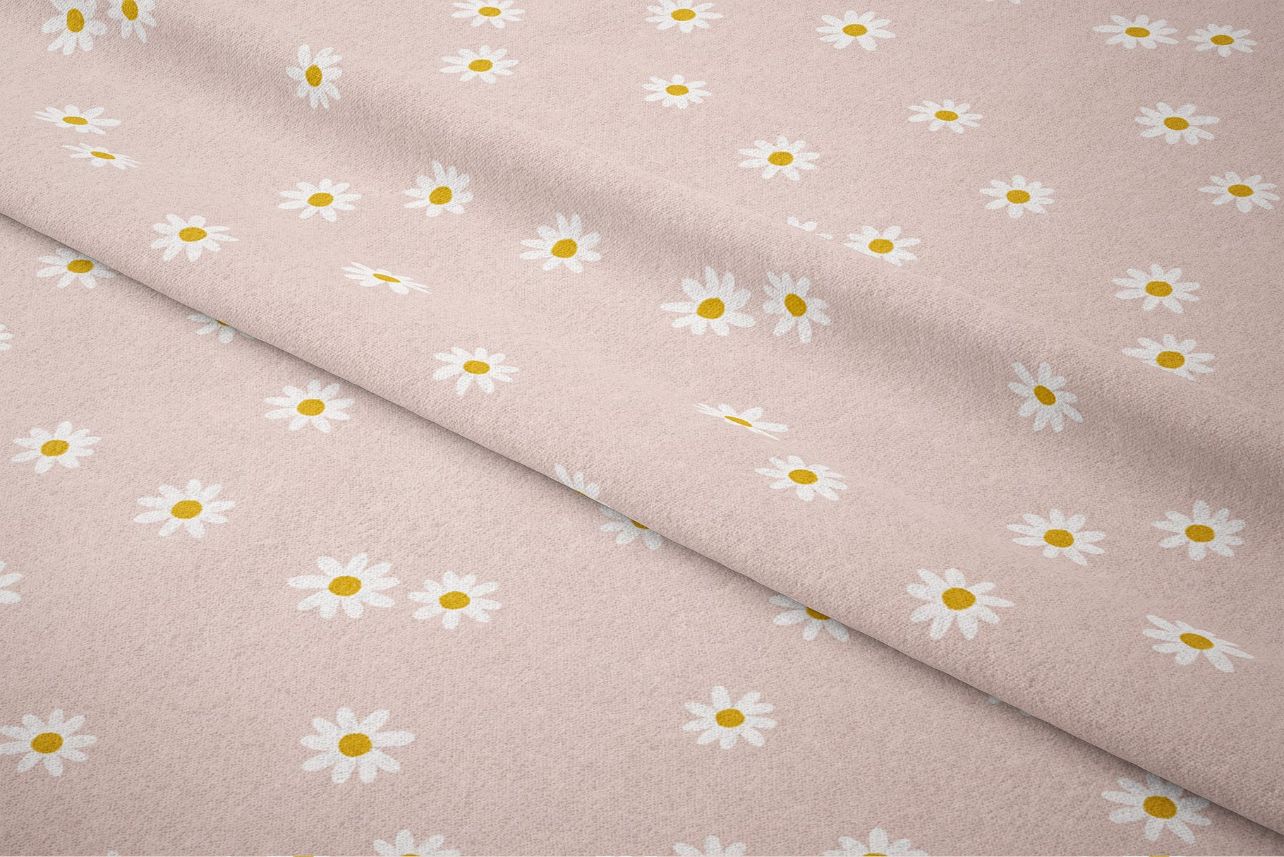 daisy floral seamless pattern print 2 3