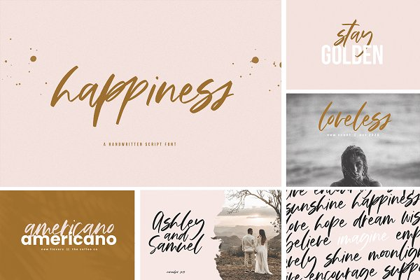 The Trendy Font BUNDLE
