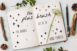 The Plus Brush - PSD Brush Set
