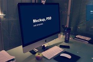 Mockup PSD WEB