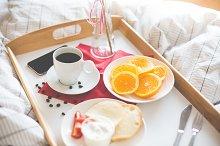 Fresh & Romantic Morning Breakfast