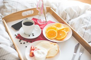 Fresh & Romantic Morning Breakfast